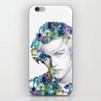 leonardo dicaprio iPhone & iPod Skins featuring Young Leonardo DiCaprio  by NKlein Design
