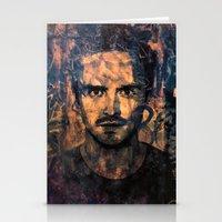 jesse pinkman Stationery Cards featuring Jesse Pinkman by Sirenphotos