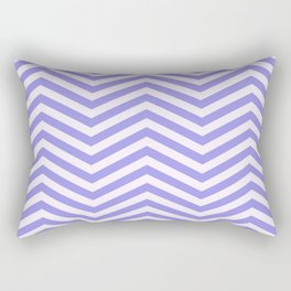 Purple and Lilac Chevron Pattern Rectangular Pillow