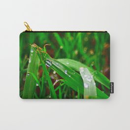 Freshness Unfolds Carry-All Pouch