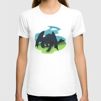 toothless T-shirts featuring toothless by tsurime