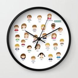 PSC Wall Clock