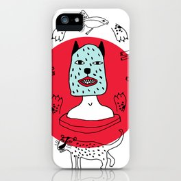 Kachina felina iPhone Case