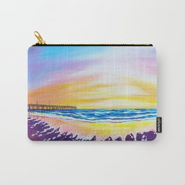 sunrise at rodanthe pier Carry-All Pouch