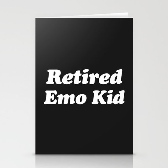 Retired Emo Kid Funny Quote by envyart