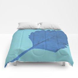Be Like A Leaf #1 Comforters