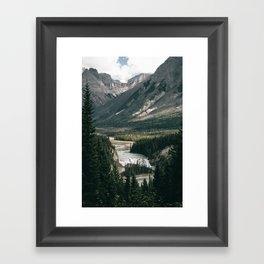 Yoho National Park Framed Art Print