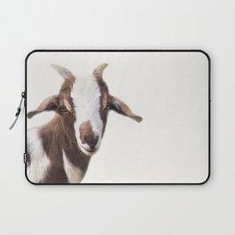 Goat Portrait Laptop Sleeve