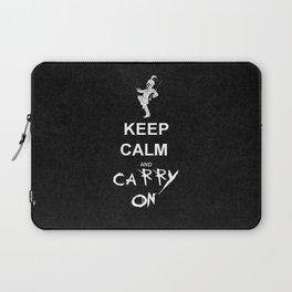 Keep Calm and Carry On: My Chemical Romance Laptop Sleeve