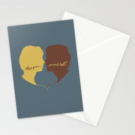DOES YOUR STOMACH HURT? Stationery Cards