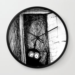 Closet Thing: Nightmares Are REAL! Wall Clock