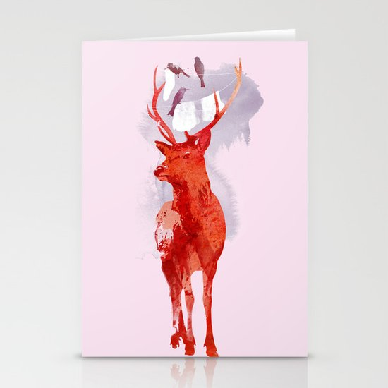 Useless Deer Stationery Cards