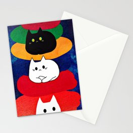 cats 603 Stationery Cards
