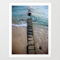 Hawaii's ~ the Ladder to a Fresh Start Art Print