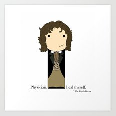 The Eighth Doctor Quote Art Print