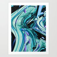 outer space Art Prints featuring outer space by blackarts