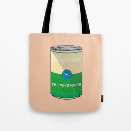The wind rises- Miyazaki - Special Soup Series  Tote Bag