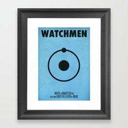 Watchmen - Dr.Manhattan Framed Art Print