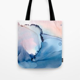 Blessing Fluid ink abstract watercolor Tote Bag