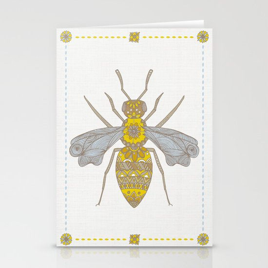 Mr Bee Stationery Cards