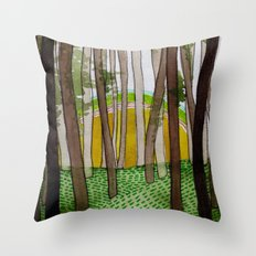 Landscapes / Nr. 5 Throw Pillow
