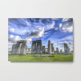 Stonehenge Metal Print