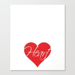 Nursing Assistants Are All Heart Medical T-Shirt Canvas Print
