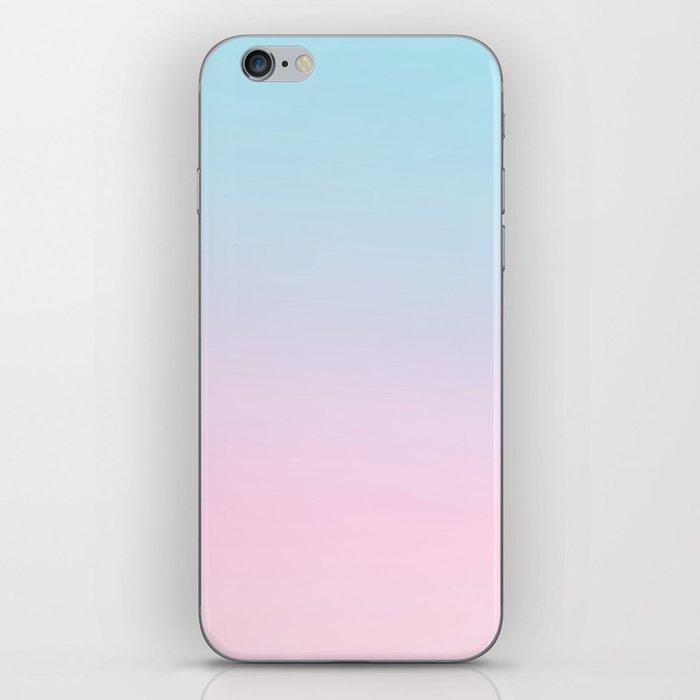 VAPORWAVE - Minimal Plain Soft Mood Color Blend Prints iPhone Skin
