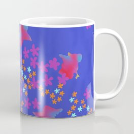 Split Orange Coffee Mug