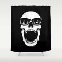 toothless Shower Curtains featuring Toothless by Magnus Snickars