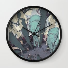 micro sleep part one Wall Clock