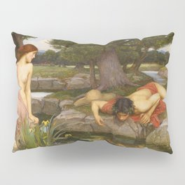 John William Waterhouse - Echo and Narcissus Pillow Sham