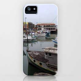 Fisherman's Wharf iPhone Case