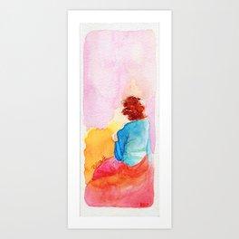 The Wainting (3/4) Art Print