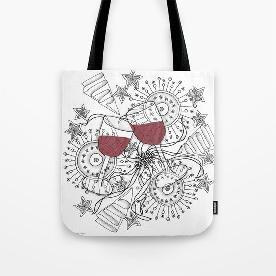 Zentangle Celebrate Everything Tote Bag
