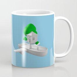 Tree House Boat Coffee Mug