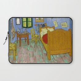 The Bedroom (1889) by Vincent Van Gogh. Laptop Sleeve