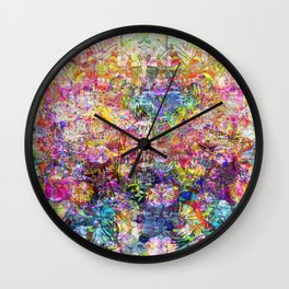 Dance Like There's No Tomorrow Wall Clock