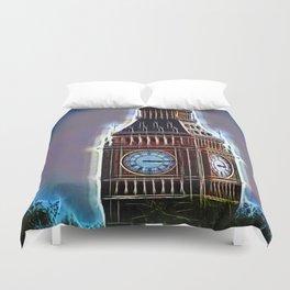 Iluminated Big Ben Duvet Cover