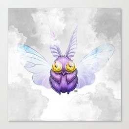 Meaty Moth Canvas Print