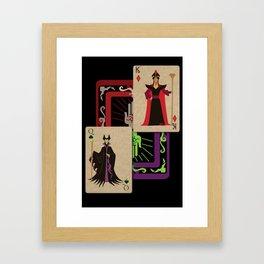 Voodoo Villains-Twin Sorcerers  Framed Art Print