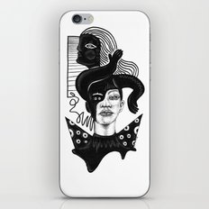 Evil on Your Mind 02 iPhone & iPod Skin