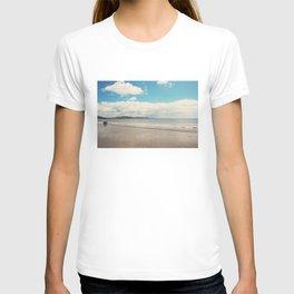 Lyme Regis coastal print T-shirt