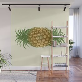 Genetically Engineered Pineapple Wall Mural