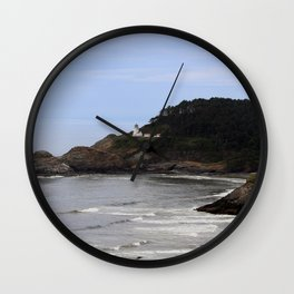 Heceta Head Lighthouse Wall Clock
