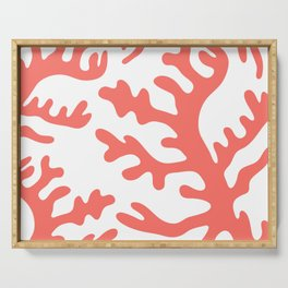LIVING CORAL Serving Tray