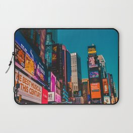 City Lights NYC (Color) Laptop Sleeve