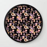 florence Wall Clocks featuring Florence by Mligiacarvalho
