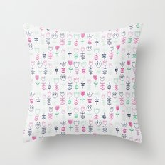 Tulipa Throw Pillow