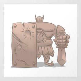 Armos Art Print